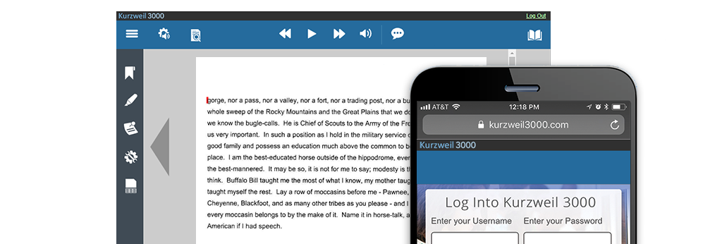 Assistive Learning Technologies & Literacy Software from Kurzweil